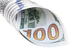 Nuova banconota in dollari degli Stati Uniti 100 Immagine Stock Libera da Diritti