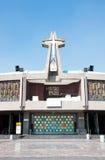 Nuova basilica del nostro Maria di Guadalupe, Città del Messico Immagine Stock Libera da Diritti