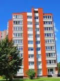 Nuova bella costruzione moderna, Lituania Immagini Stock