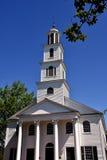 Nuova Berna, NC: Prima chiesa presbiteriana 1822 Fotografia Stock Libera da Diritti