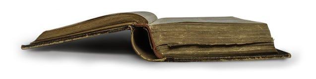 Bibbia santa aperta Fotografie Stock