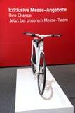 Nuova bicicletta di KIA agli AMI Lipsia, Germania Fotografia Stock