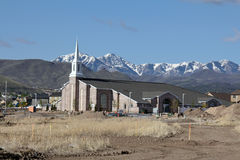Nuova Camera della chiesa di LDS Fotografie Stock Libere da Diritti