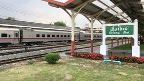 Nuova carrozza ferroviaria del treno nessuna 11 Uttaravithi archivi video