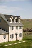 Nuova casa americana rurale immagini stock libere da diritti
