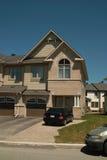 Nuova casa, Barrhaven Ontario Canada Fotografia Stock Libera da Diritti