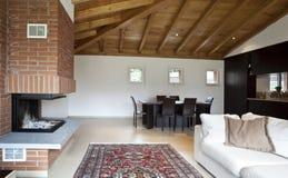 Nuova casa bella fotografia stock
