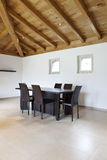 Nuova casa bella, interiore moderno immagine stock