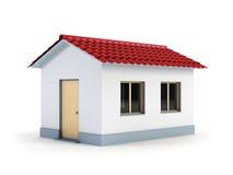 Nuova casa bianca Immagini Stock