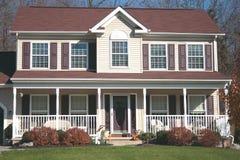 Nuova casa - Colonial 6 Immagine Stock