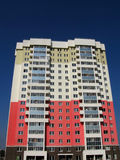 Nuova casa colorata Immagini Stock