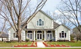 Nuova casa construction2 fotografia stock libera da diritti