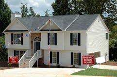 Nuova casa da vendere Immagine Stock Libera da Diritti