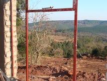 Nuova casa dell'azienda agricola sul Soutpansberg Fotografia Stock Libera da Diritti