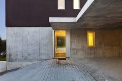 Nuova casa dell'entrata Fotografie Stock Libere da Diritti