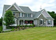 Nuova casa dell'Ohio Fotografia Stock Libera da Diritti