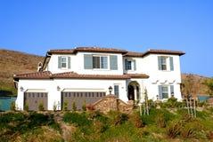 Nuova casa di lusso Fotografia Stock