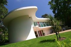 Nuova casa di lusso moderna della Camera Fotografie Stock