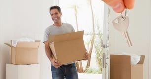 Nuova casa domestica boxes_0007 del boxes_New Immagine Stock