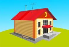 Casa illustrazione di stock