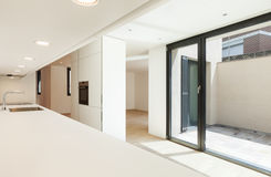Nuova casa interna Immagine Stock