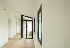 Nuova casa interna Fotografia Stock