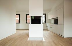 Nuova casa interna Fotografie Stock