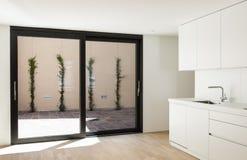Nuova casa interna, cucina Fotografia Stock