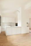 Nuova casa interna, cucina Fotografie Stock Libere da Diritti