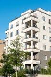 Nuova casa multifamiliare a Berlino Fotografia Stock