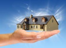 Nuova casa per voi Immagine Stock Libera da Diritti