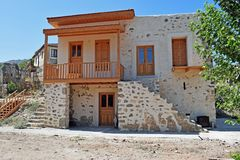 Nuova casa in Turchia Fotografie Stock