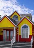 Nuova casa variopinta Immagine Stock Libera da Diritti