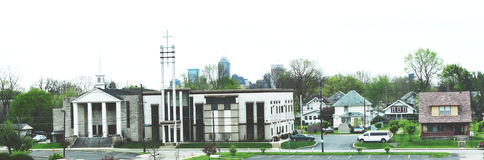 Nuova chiesa di ERA - Indianapolis, Indiana Immagine Stock