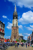Nuova chiesa (Nieuwe Kerk), Delft, Paesi Bassi Fotografia Stock Libera da Diritti