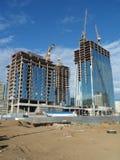 Nuova città - costruzioni fotografia stock
