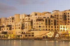 Nuova città della Doubai Fotografia Stock Libera da Diritti