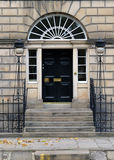 Nuova città di Edimburgo: entrata tipica Fotografie Stock Libere da Diritti