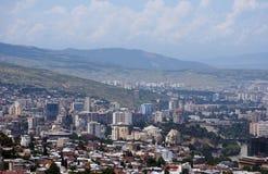 Nuova città di Tbilisi Fotografia Stock Libera da Diritti
