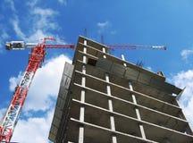 Nuova costruzione Fotografie Stock Libere da Diritti