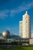 Nuova costruzione alta di forma rotonda Immagine Stock