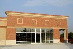 Nuova costruzione commerciale Fotografie Stock Libere da Diritti