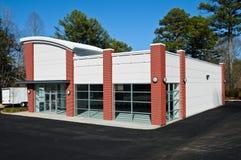 Nuova costruzione commerciale Fotografie Stock