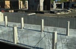 Nuova costruzione commerciale Fotografia Stock