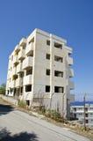 Nuova costruzione del blocco nell'isola di Rodi Immagini Stock