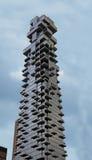 Nuova costruzione del grattacielo di Manhattan Fotografie Stock Libere da Diritti