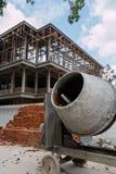 Nuova costruzione dell'aggiunta di stanza Fotografia Stock Libera da Diritti
