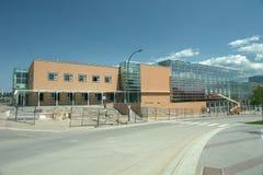 Nuova costruzione dell'università Fotografia Stock
