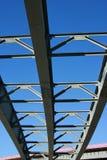 Nuova costruzione della strada principale Immagini Stock