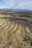 Nuova costruzione della vicinanza di Los Angeles in Porter Ranch Fotografie Stock